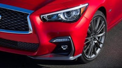 2018 INFINITI Q50 Red Sport Sedan Performance | Intelligent All-Wheel Drive